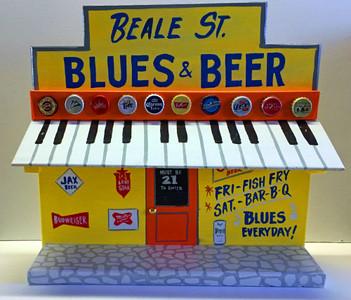 BEALE ST BLUES & BEER - JUKE JOINT by George Borum