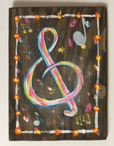 TREBEL CLEF for your Music Room