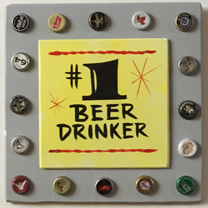 NUMBER ONE - #1 - BEER DRINKER PARTY SIGN