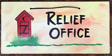 RELIEF OFFICE -- OUTHOUSE - 2614