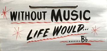 WITHOUT MUSIC - ---LIFE WOULD Bb