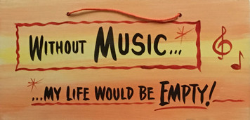 WITHOUT MUSIC - My Life Would Be Empty