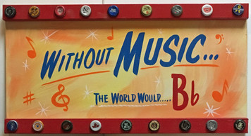 WITHOUT MUSIC ---- THE WORLD WOULD B-b