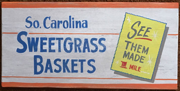 SOUTH CAROLINA SWEETGRASS BASKETS