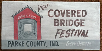 COVERED BRIDGE FSTIVAL - Parke County, Indiana