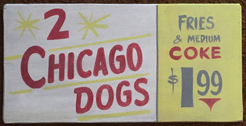 2 CHICAGO DOGS - Fries - Coke -$1.99