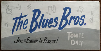 The BLUES BROTHERS - TONITE