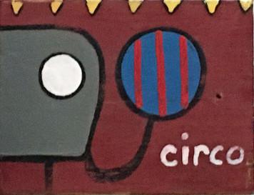 """CIRCO"" - Circus Elephant Painting"