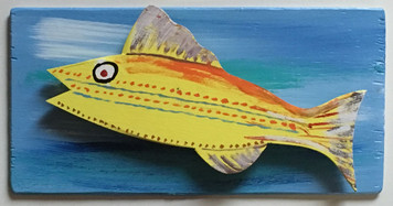 MOUNTED FISH #4 by Steve Knight