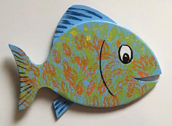 HAPPY FISH #17 by Steve Knight