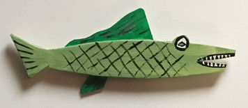 GARFISH Cut-out #15 by Steve KNIGHT