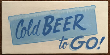 COLD BEER - TO GO!