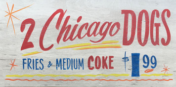 CHICAGO DOGS - 2 for $1.99
