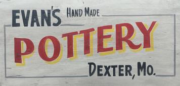 EVANS POTTERY - DEXTER, MO