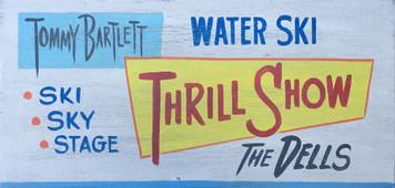 TOMMY BARTLETT - WATER SKI THRILL SHOW - WISCONSIN DELLS