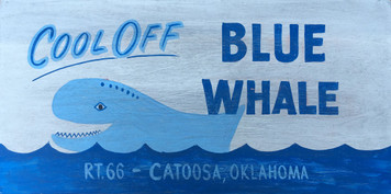 BLUE WHALE Tourist Attraction - Catoosa, Oklahoma