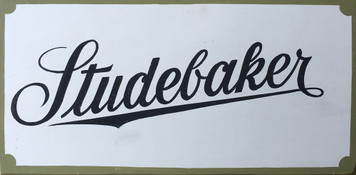 Old Time Sign - Studebaker Logo for Wagons & early Cars