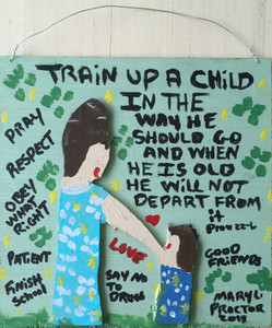 TRAIN UP A CHILD -by Mary Proctor - 2944-PC