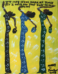 3 GIRLS - SUN WILL SHINE - by Mary Proctor - 2947-PC