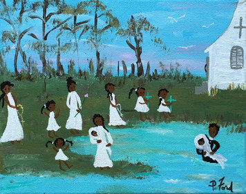 BAPTISM in the BAYOU by Paulette Ford