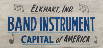 ELKHART INDIANA - Band Instrument Capital of the World
