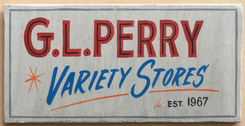 G L PERRY VARIETY STORES - Elkhart - Mishawwaka - S Bend Indiana