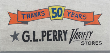 G L PERRY Variety Stores - S Bend - Mishawaka Elkhart Indiana