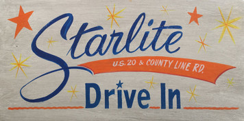 STARLITE - STARLIGHT DRIVE IN THEATRE - Elkhart - Mishawaka - S Bend IN