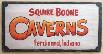 SQUIRE BOONE CAVERNS - Ferdinand, Indiana