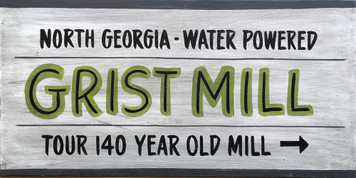 North Georgia - Water Powered - GRIST MILL