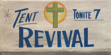 TENT REVIVAL TONIGHT