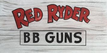 RED RYDER - B B GUNS