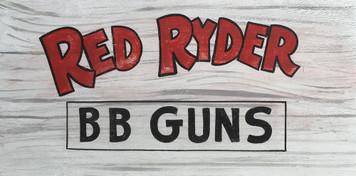 RED RYDER - B B GUNS