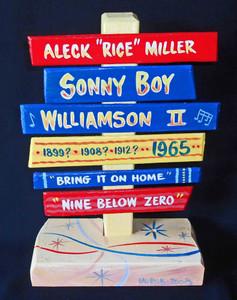 Sonny Boy Williamson (Rice Miller) Chess Recording Star Signpost