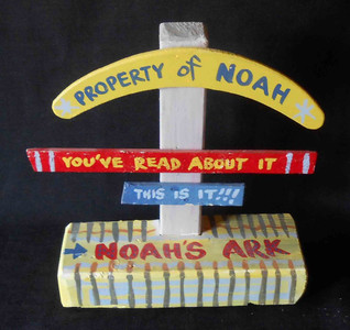 Noah Ark Arc Signpost by George Borum