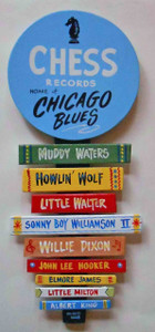 Chess Records - Muddy - Wolf - Walter - Sonny Boy Wall Plaque