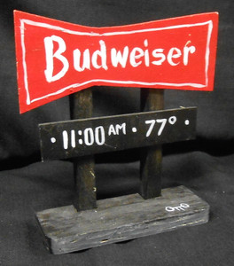 BUDWEISER HIGHWAY SIGN POST by Otto Schneider - Street Artist