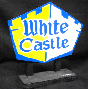 WHITE CASTLE SIGNPOST by OTTO - Chicago St Artist