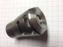 AR10 Compact Size Stainless Steel Muzzle Brake 5/8-24 TPI