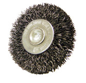 """2"""" dia x 1/4"""" Shank x .008"""" Crimped Wire Wheel Stainless Steel"""