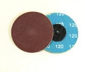 "3"" x 120 Grit Roloc Sanding Disc A/O"