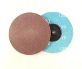 "3"" x 320 Grit Roloc Sanding Disc A/O"