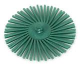 "3"" x 50 Grit (green) 3M Radial Bristle Wheel"