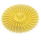 "3"" x 80 Grit (yellow) 3M Radial Bristle Wheel"