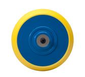 "6"" x 5/16""-24 Hook n Loop Disc Backing Pad No Hole"