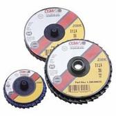 "CGW 2"" x 120 Grit Flap Disc Zirconia Quick Change Type R"