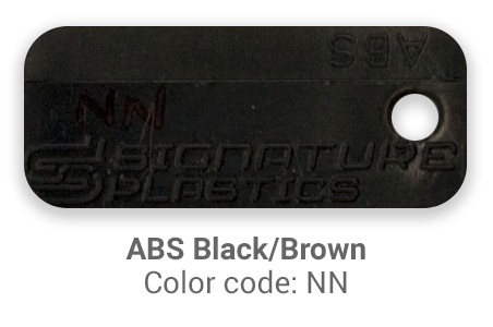 Pimp My Keyboard ABS Black-Brown nn color-tab
