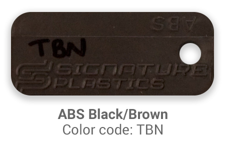 Pimp My Keyboard ABS Black-Brown tbn color-tab