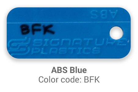 Pimp My Keyboard ABS Blue bfk color-tab
