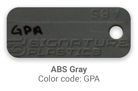 Pimp My Keyboard ABS Gray gpa color-tab